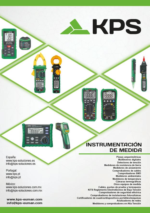 KPS - Catálogo de Instrumentación de Medida